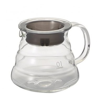 Carafe support en evrre pour Dripper V60® 2/5 tasses 600 ml