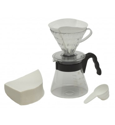 Kit complet pour Over Kit 1 à 5 tasses
