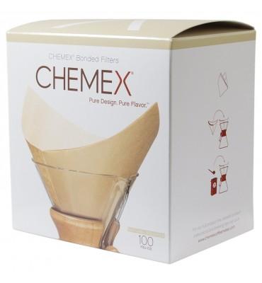 Filtres papier naturel pour cafetières Chemex® 6 à 8 tasses