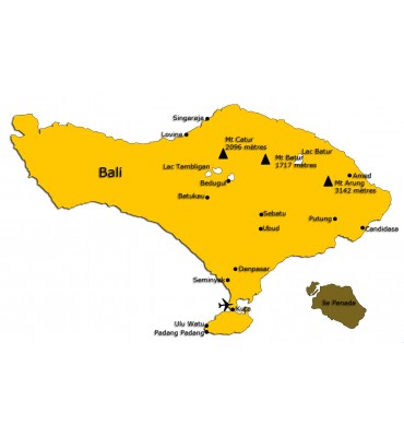 "Indonésie  ""Ile de Bali"""