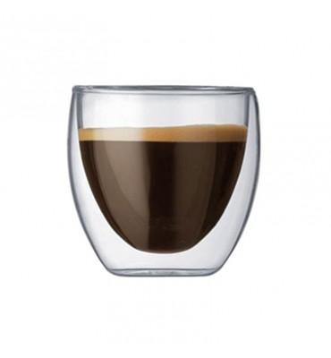 Verre à café Pavina 25cl double paroi en coffret de 2