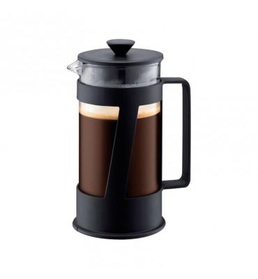 Cafetière à piston Crema 0.35 L noire (3 Tasses)