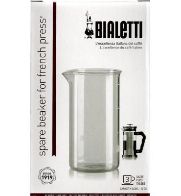 Verre de rechange pour cafetière piston Bialetti
