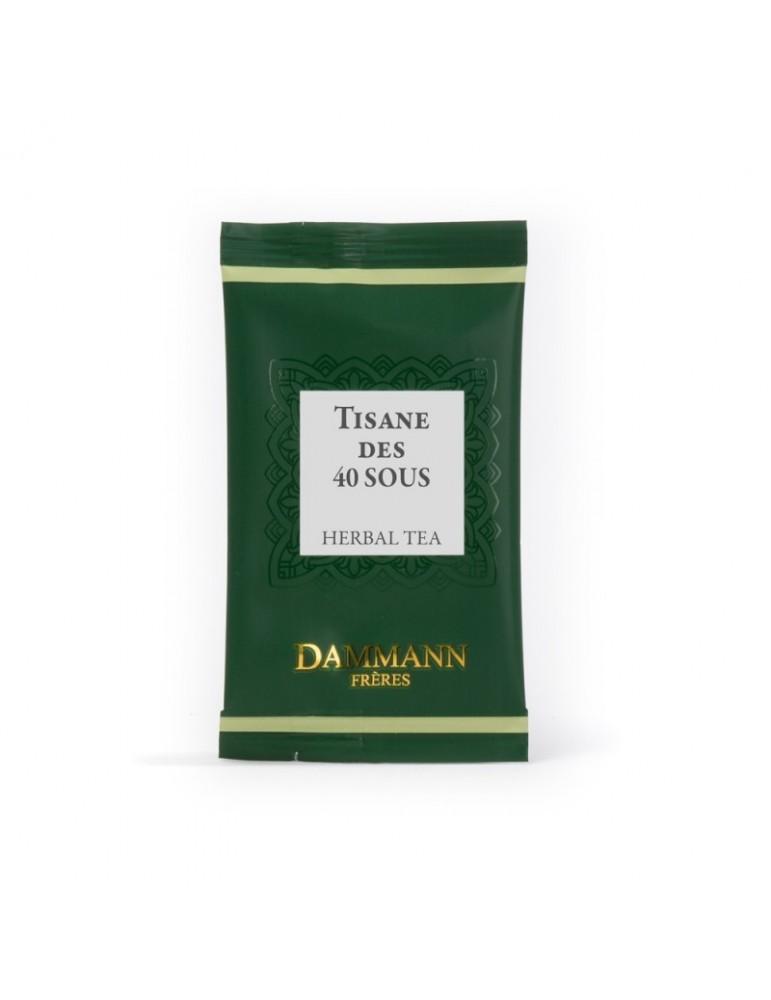 Tisane des 40 sous, 24 sachets cristal suremballés Dammann