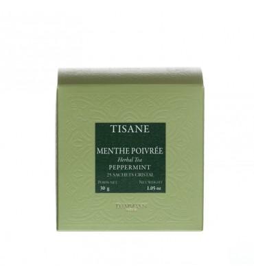 Tisane Menthe Poivrée, 25 sachets cristal Dammann