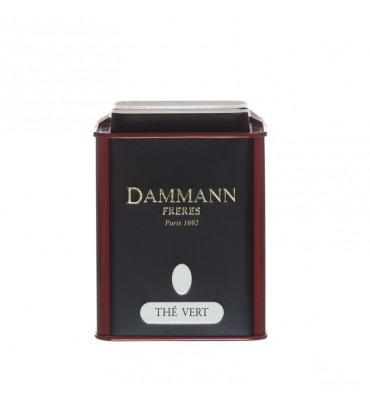 "Boite vide Dammann Frères ""Thé noir"""