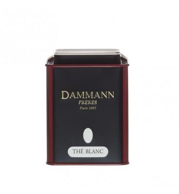 """Boite vide Dammann Frères """"Thé blanc"""""""