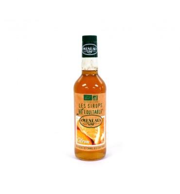 Sirop de citron Bio Équitable 1 litre