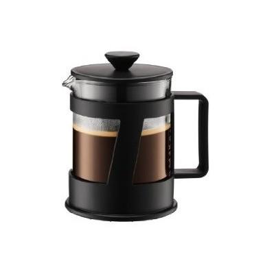 Cafetière à piston Crema 0.5 L noire (4-5 Tasses)