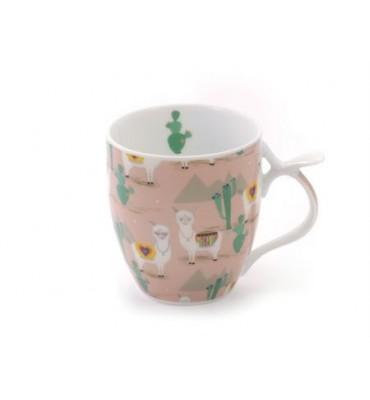 Mug Lama Porcelaine 35 cl