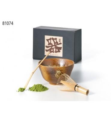 Set de préparation Chiyo pour thé Matcha