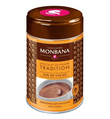 Chocolat en poudre salon de thé  en boîte de 250g