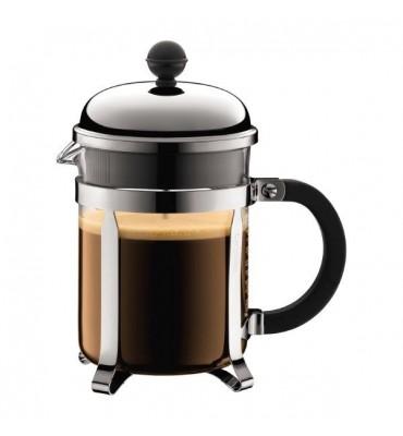 Cafetière à piston Chambord 0.5 L noire (4 Tasses)