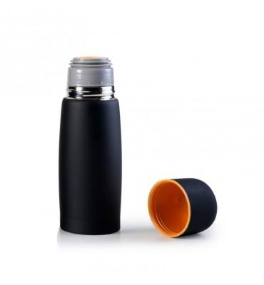 Bouteille isotherme noir mat 1 litre