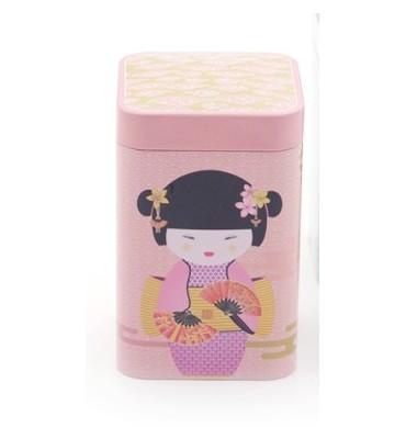 "Boite à thé 100 gr ""New Little Geisha"" rose"