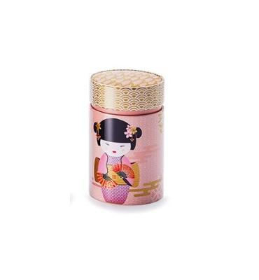 "Boite à thé 150 gr ""New Little Geisha"" rose"