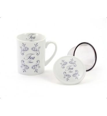 """Tisanière """"Tea Time"""" 0.25 cl"""