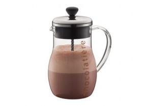 Chocolatière en verre 1 L