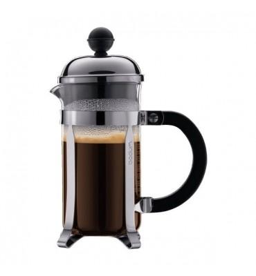 Cafetière à piston Chambord 0.35 L noire (3 Tasses)