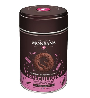 Chocolat en poudre aromatisé Spéculos en boîte de 250g