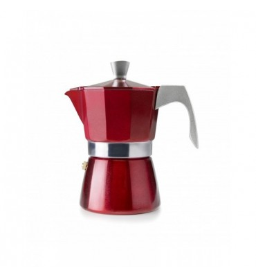 Cafetière Italienne Evva RED IBILI 6T
