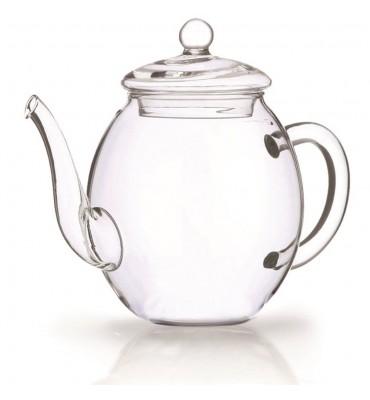 Coffret théière en verre 500 ml + 6 fleurs de thés noir