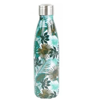 Bouteille isotherme 500 ml Feuilles