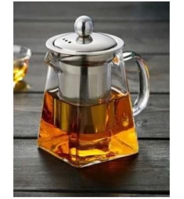 Théière en verre carre 750 ml