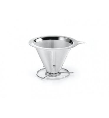 Filtre a café permanent en inox 2 tasses