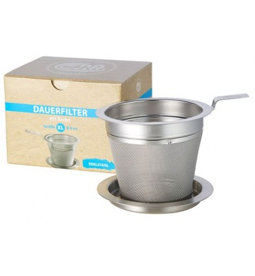 Passe thé inox 8 cm avec coupelle