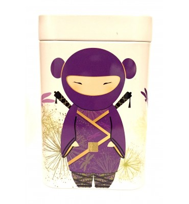 Boîte à thé Ninja violet/bleu 100 gr